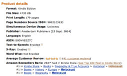 Outcry_number_1_in all_categories_on_amazon