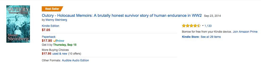 Outcry _holocaust_memoirs_bestseller_13_september_2016