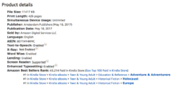 The Hidden Village - 3 times bestseller Amazon 13 June 2017