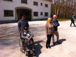 Manny_steinberg_and _family_at_dachau