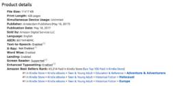 The Hidden Village - 3 times bestseller Amazon 13 June 2017