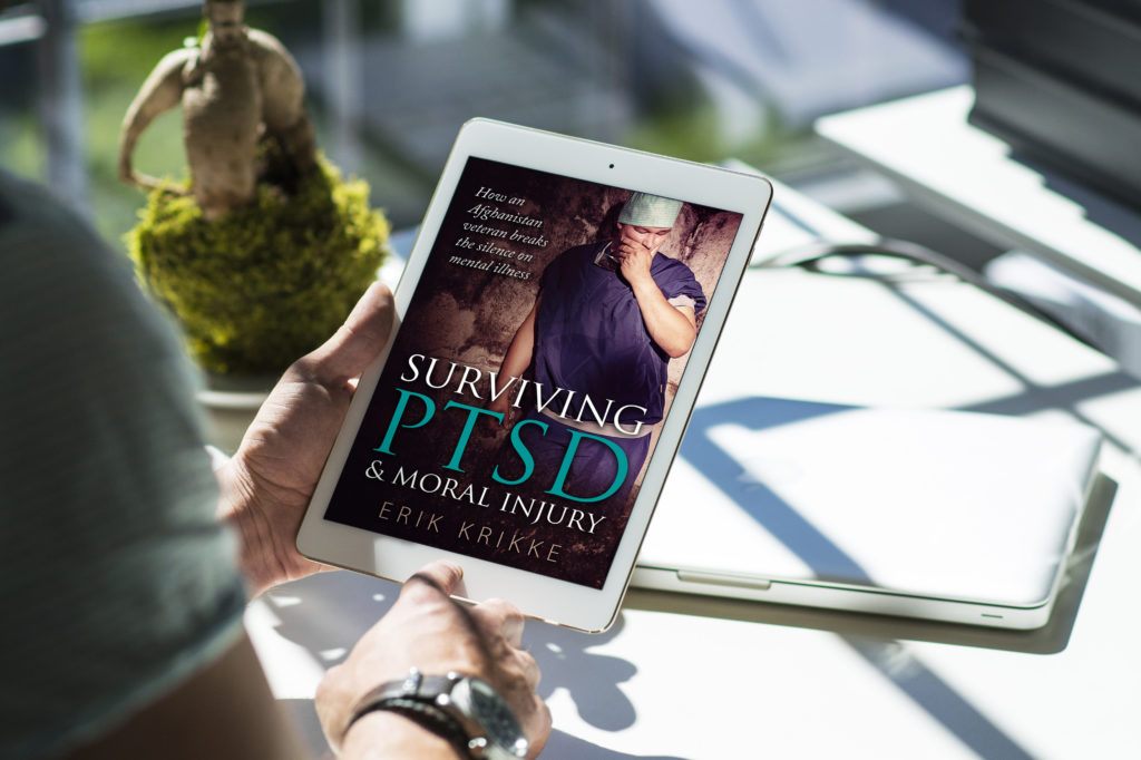 Surviving PTSD by Erik Krikke, published by Amsterdampublishers